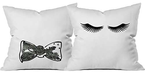 Oh Susannah Eyelashes Throw Pillow