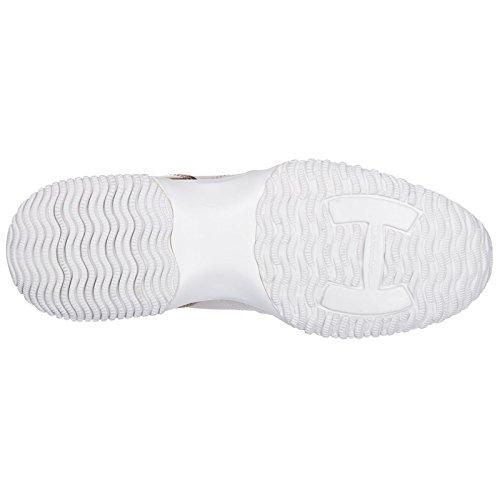 Interactive Chaussures Blanc Cuir en Femme Baskets Sneakers Hogan fOwqSFn