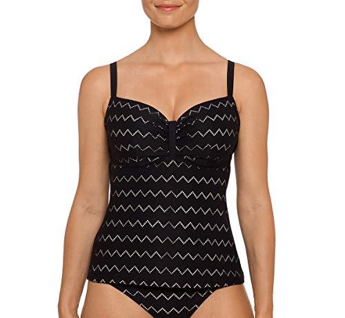 0a48b320fb7d1 Prima Donna Maya Padded Tankini Swim Top (4004370) 36E/Black