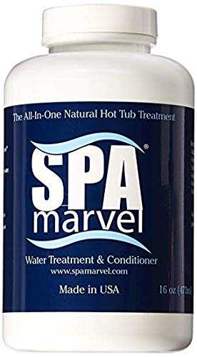 Spa Marvel Conditioner 6 Month 2 Pack (Bundled with Pearsons Scumball Absorber) ()