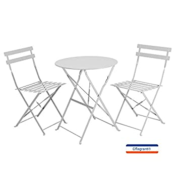 Cflagrant® Table de Jardin / Balcon \