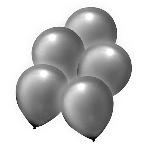 Premium LED Light-Up Balloons Party Favors Decor - Push Button Activated - 2 Flashing Modes (20 - Novelty Balloons