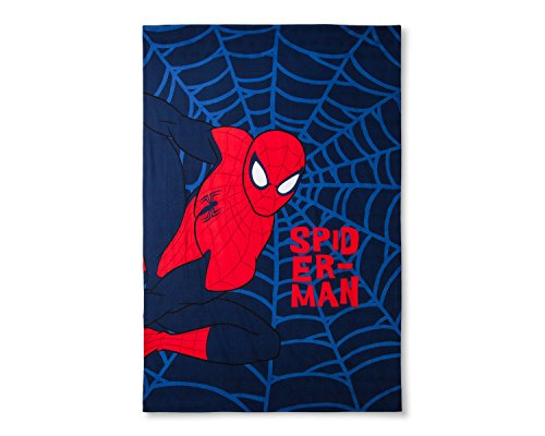 Web Of Spider Man Covers (Marvel Spider-Man Web Blue Bed Blanket (Twin))