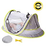 Baby Beach Tent Portable Baby Travel Bed Indoor & Outdoor 50+ UV Ultralight