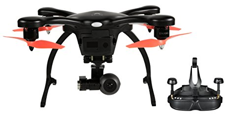 Ehang GHOSTDRONE 2.0 VR, iOS Compatible, Black/Orange