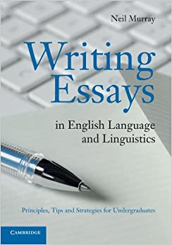 writing essays in english language and linguistics principles tips and strategies for undergraduates - Strategies For Writing Essays