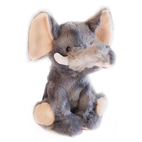 Elly the Smelly Elephant, Farting Plush Dog Toy with Sound (Elephant Plush Dog Toy)