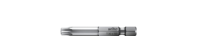 T15 x 50 mm Wiha Bit Professional TORX/® Festhaltemechanik Magicspring/® 1//4 34453