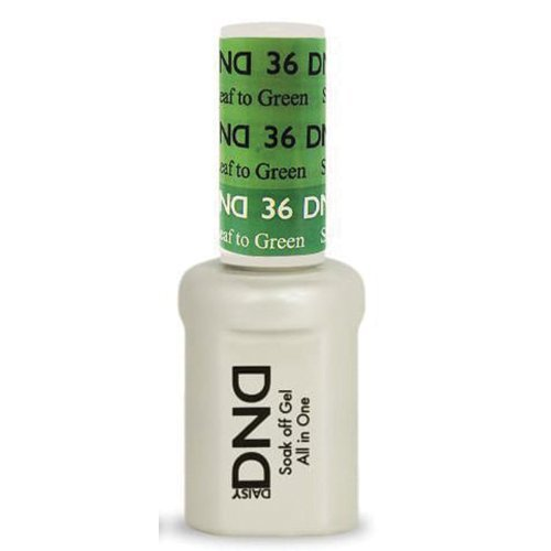 DND Daisy Soak Off Gel Mood Change - Spring Leaf to Green 36