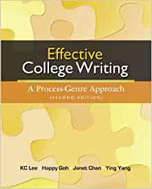 Effective college writing : a process-genre approach