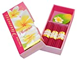 Hawaiian Forever Florals Incense Gift Box 4 Sets Plumeria