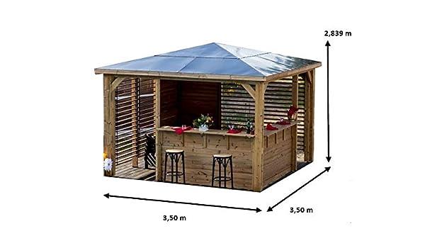 HABRITA Pool House BLUETERM - Mesa Doble con ventosas: Amazon.es: Jardín