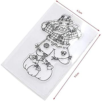 Silicone Clear Rubber Stamps Seal Scrapbooking Album Card Decor Diary DIY Crafts