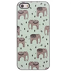 JAJAY- Lovely Elephant Design Aluminium Hard Case for iPhone 4/4S