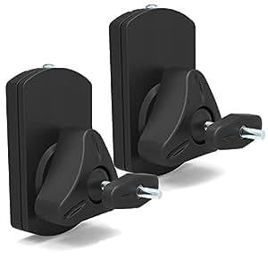 Universal 10kg Speaker Wall Mount Brackets Pair Pivot Tilt fits SONOS Play:1
