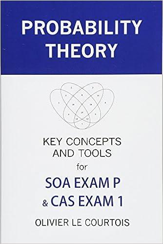Actuary study guide exam 1