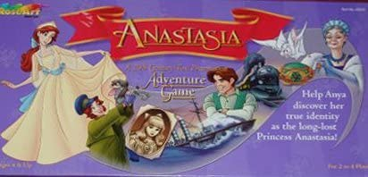 Anastasia Adventure Game Rose Art Industries Inc.