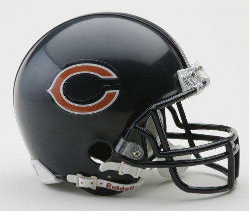 NFL Riddell Chicago Bears Mini Replica Helmet - Riddell Nfl Replica Mini Helmet