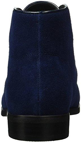 Buffalo Damen 415-1271 Mucca Scamosciata Derby Blau (navy)