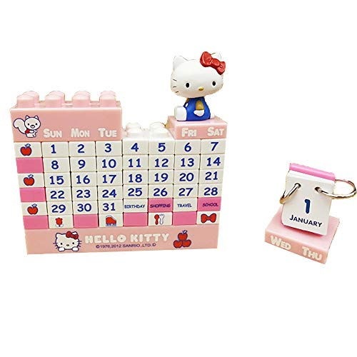Hello Kitty Blocks Puzzle Perpetual Calendar]()