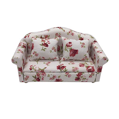 Hot  Dollhouse Accessories Miniature Sofa Set Miniature for sale  Delivered anywhere in USA