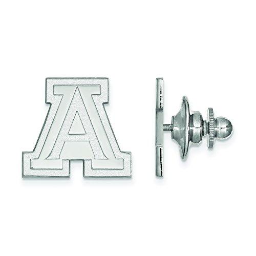 LogoArt University of Arizona Lapel Pin (Sterling Silver)