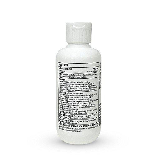 Ulcer Ease Medicated Mouth Rinse 6 oz (Pack of 6) by UlcerEase (Image #1)