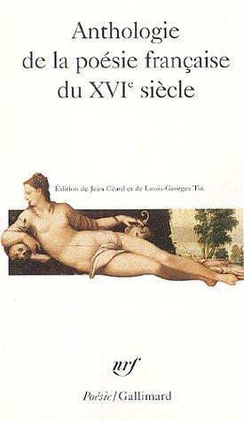 Antho de La Poe Fr 16e Sie (Poesie/Gallimard) (French Edition)