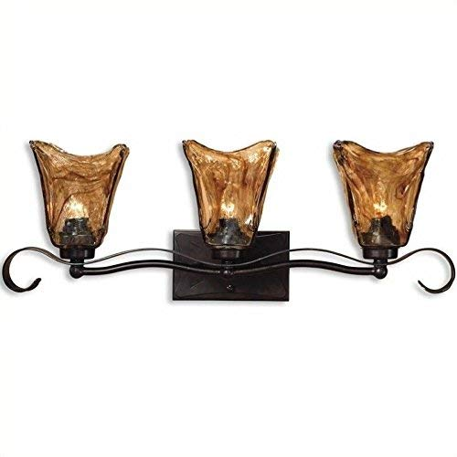 Uttermost 22801 Vetraio 3-Light Vantity Strip 7 x 26 x 9