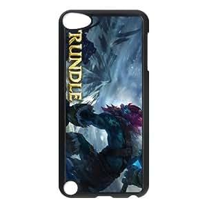 ipod 5 phone case Black Trundle league of legends SDF4533516