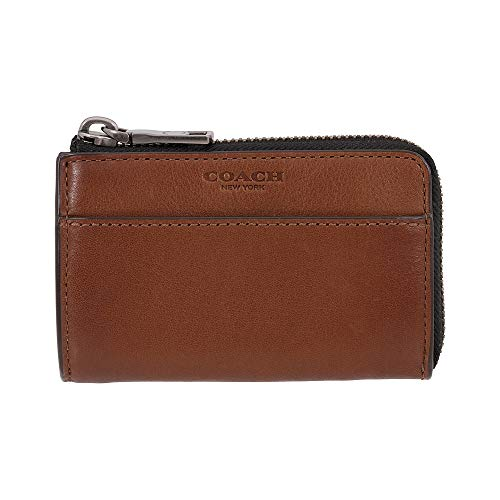 Coach Men's Small Leather Zip Key Case 63193CWH (Coach Key Leather)