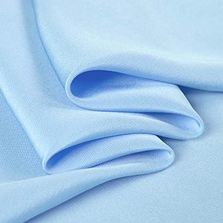 TURQUOISE Crepe De Chine Fabric Dressmaking Fabric 145cm wide