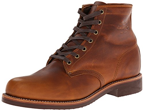 Original Chippewa Collection Men's 1901M26 6 Inch Service Utility Boot, Tan Renegade, 8.5 D US