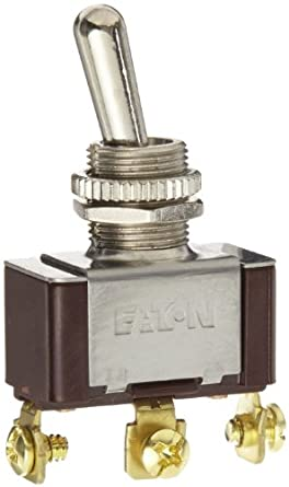 eaton xtd2b2a toggle switch, screw termination, on off on actionimage unavailable image not available for