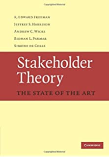 Strategic management a stakeholder approach r edward freeman stakeholder theory the state of the art fandeluxe Images