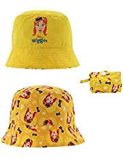 The Wiggles Emma Reversible Packable Bucket Hat for Kids in Yellow
