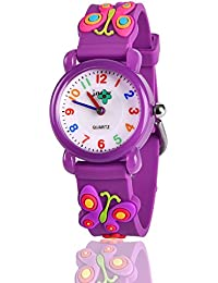 Unique 3D Cartoon Waterproof Watches for Kids - Best Gifts
