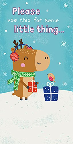 Amazon.com: Reno bonito tarjeta de regalo de Navidad ...