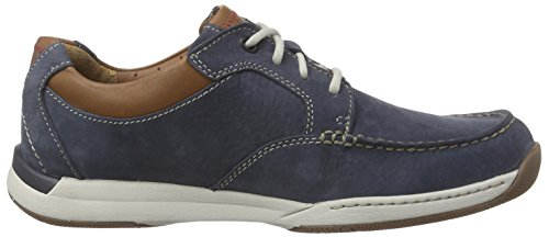 Clarks Javery Time - Zapatos de cordones derby Hombre Azul (Navy Nubuck)