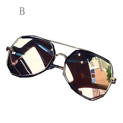 para Gafas A con Libre Grande Sol De Aire Hombre Gafas al Antipolar FZG Montura B de Gafas Sol Gafas Protección Sol De Color De ABxqxY8wP