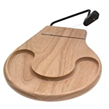 Prodyne Beechwood Cheese Tray with Cracker Well