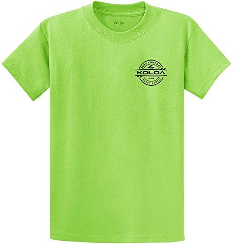 (Koloa Surf Thruster Design Heavy Cotton Tee-S-Lime/b)