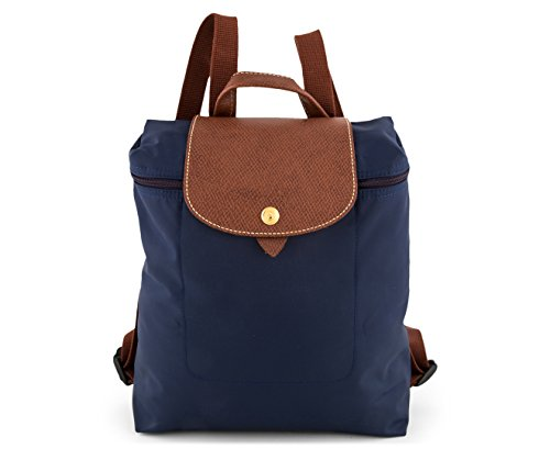 Longchamp Le Pliage - Mochila (23 x 40 x 55 cm), color Azul, talla 23x40x55 cm (B x H x T)
