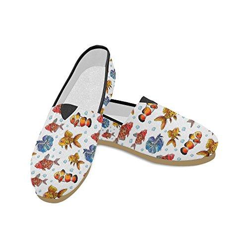 Interestprint Mocassins Éléphants Chaussures Occasionnels Pour Les Hommes Femmes Poisson 1