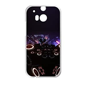 Deadmau5 Led Cube HTC One M8 Cell Phone Case White&Phone Accessory STC_188587