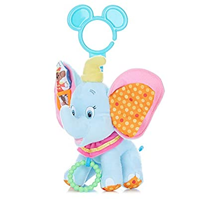 Disney Baby Dumbo On The Go Activity Toy : Plush Animal Toys : Baby