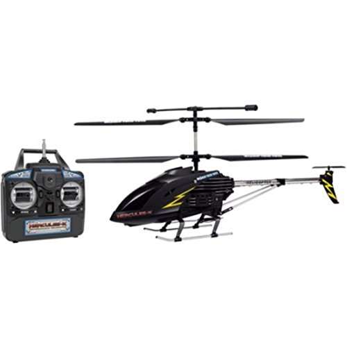 Super Strong Polymer Body GYRO-X 3.5CH Remote Control Black Helicopter