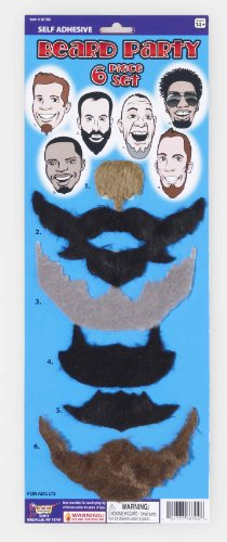Forum Novelties Self-Adhesive Beard Set (6 Styles)]()