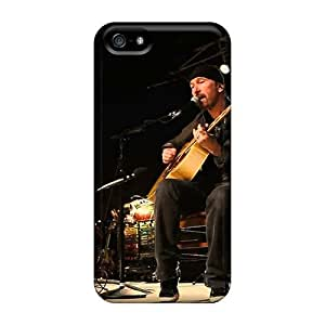 Iphone 5/5s MRL373oQVi Customized Stylish U2 Image Great Hard Cell-phone Case -RichardBingley