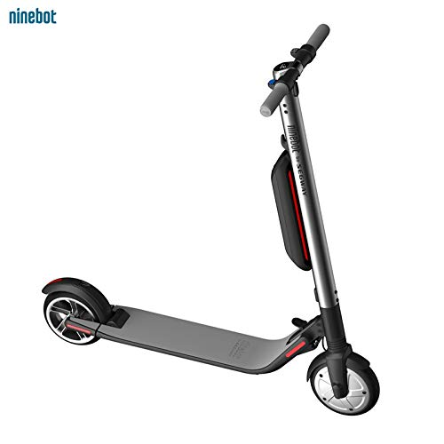 Segway - ES4 KickScooter Ninebot - High Performance Foldable Electric Scooter - 28 Mile Range, 18.6 mph Top Speed, Cruise Control, Mobile App Connectivity